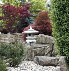 Японский сад - самые важные элементы