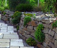 Каменистые садики в ландшафтном дизайне