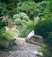 Правила размещения камней в Японском Саду